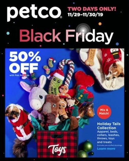 Petco Black Friday Sale