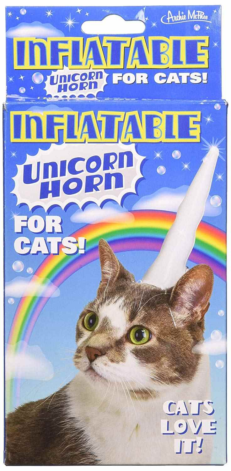 Inflatable Caticorn horn product box