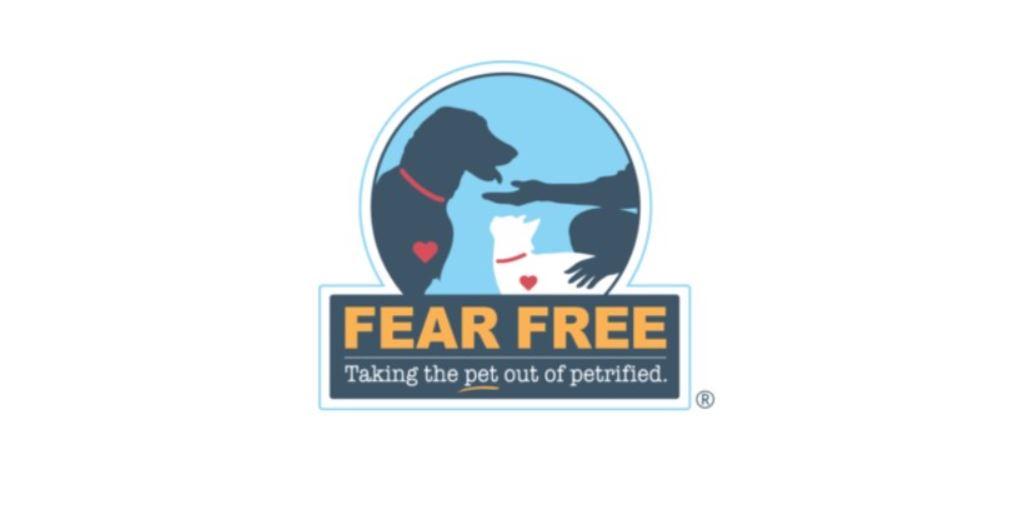 Veterinarian fear free logo