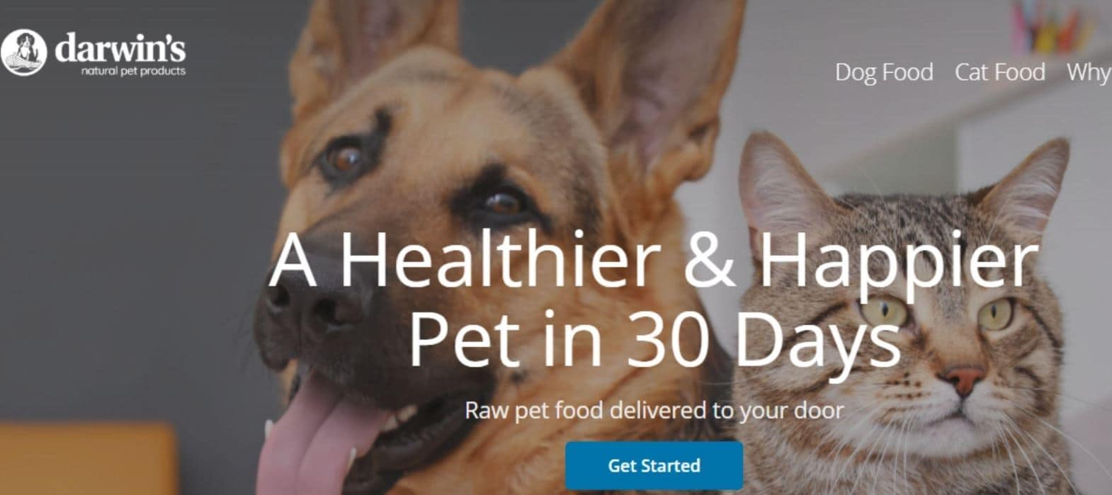 Darwin's Natural Pet Products is selected as the 5th best option